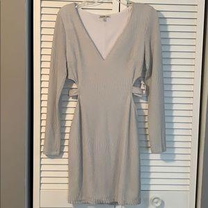 Form fitting dress white dress